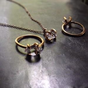 ハーキマーダイヤモンドシリーズ写真