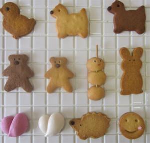 動物クッキーのコピー