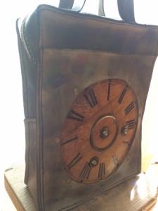 古時計バック